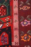 Coperta fatta a mano Coperta fatta a mano di lana tradizionale Immagine Stock