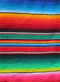 Coperta handwoven messicana di festa Immagine Stock