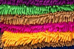 Coperta variopinta del tappeto Immagine Stock
