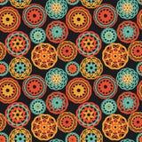 Coperte lavorate a maglia del crochet illustrazione di stock