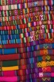 Coperte peruviane Fotografie Stock Libere da Diritti