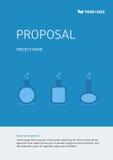 Copertina del modello di progetto Fotografia Stock