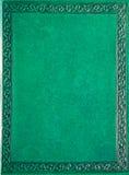 Copertina del vecchio libro. Fotografia Stock