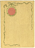 Copertina di libro antica Immagini Stock Libere da Diritti
