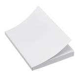 Copertina di libro in bianco Fotografie Stock Libere da Diritti