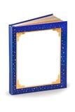 Copertina di libro in bianco di favola - percorso di residuo della potatura meccanica Immagine Stock Libera da Diritti