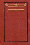 Copertina di libro dell'annata Fotografie Stock