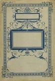 Copertina di libro dell'annata Fotografia Stock