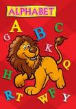 Copertina di libro di alfabeto Fotografia Stock