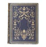 A copertina di libro diretta a cuoio di antiquariato Fotografia Stock