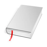 Copertina di libro dura in bianco Immagine Stock