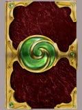 Copertina di libro magica Fotografia Stock