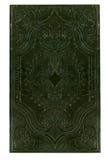 Copertina di libro nero antica Fotografia Stock