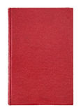 Copertina di libro rossa Immagini Stock Libere da Diritti
