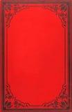 Copertina di vecchio libro Fotografia Stock Libera da Diritti