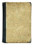Copertina di vecchio libro Fotografie Stock