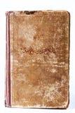 Copertina di vecchio libro con l'ornamento fotografia stock