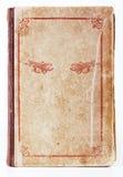 Copertina di vecchio libro con l'ornamento Fotografie Stock