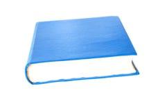 Copertina dura blu semplice Fotografie Stock