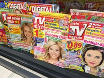 Copertine delle riviste immagini stock