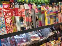 Copertine delle riviste fotografia stock libera da diritti