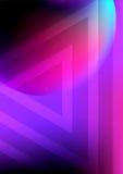 Copertura Colourful d'avanguardia Fotografie Stock Libere da Diritti