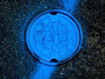 Copertura del foro del vaso per acqua Fotografie Stock Libere da Diritti