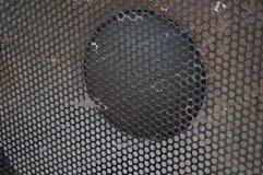 Copertura del suono del metallo Immagini Stock