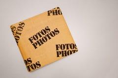 Copertura dell'album di foto Fotografia Stock Libera da Diritti
