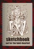 Copertura dello Sketchbook Fotografia Stock Libera da Diritti