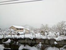 Copertura di neve Fotografia Stock Libera da Diritti