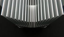 Copertura di raffreddamento di alluminio per il server del PC immagine stock libera da diritti