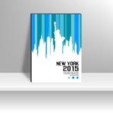 Copertura di rivista di New York Immagini Stock