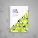 Copertura per il libro, progettazione astratta del modello Immagini Stock Libere da Diritti