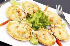 Coperture con parmigiano - piatto peruviano Immagine Stock