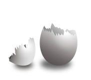 Coperture dell'uovo Fotografie Stock