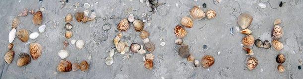 Coperture della spiaggia Fotografia Stock Libera da Diritti