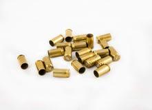 Coperture delle munizioni 9 millimetri Fotografie Stock