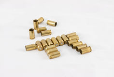 Coperture delle munizioni 9 millimetri Immagini Stock Libere da Diritti