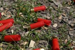 coperture delle pallottole del fucile da caccia Immagini Stock Libere da Diritti