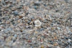 Coperture nella sabbia Fotografia Stock Libera da Diritti