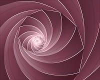 Coperture reali di turbinio del cornucopia Fotografia Stock