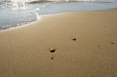 Coperture sulla riva di mare Immagine Stock Libera da Diritti