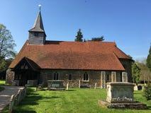 Copford kościół, Essex, Anglia Zdjęcie Stock
