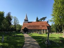 Copford kościół, Essex, Anglia Zdjęcia Royalty Free