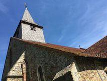 Copfordkerk, Essex, Engeland Royalty-vrije Stock Afbeeldingen