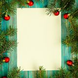 Copi il fondo di Natale dello spazio Immagine Stock Libera da Diritti