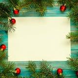 Copi il fondo di Natale dello spazio Fotografia Stock