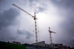 Copi la foto dello spazio della costruzione Fotografia Stock Libera da Diritti