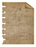 Copia áspera aislada en el fondo blanco Fotografía de archivo libre de regalías